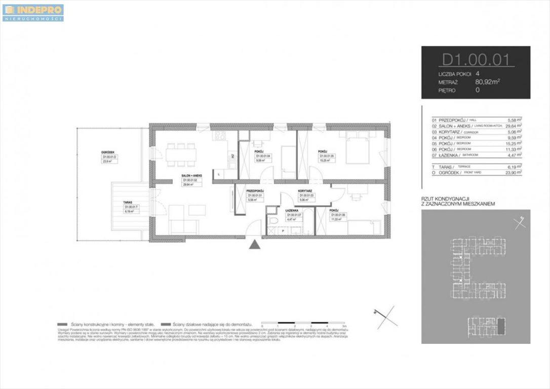 Mieszkanie czteropokojowe  na sprzedaż Warszawa, Białołęka, Klasyków  81m2 Foto 4