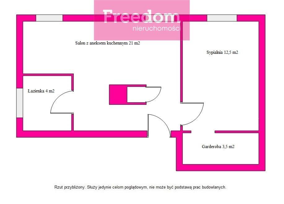 Mieszkanie trzypokojowe na sprzedaż Olsztyn, al. Aleja Wojska Polskiego  50m2 Foto 13