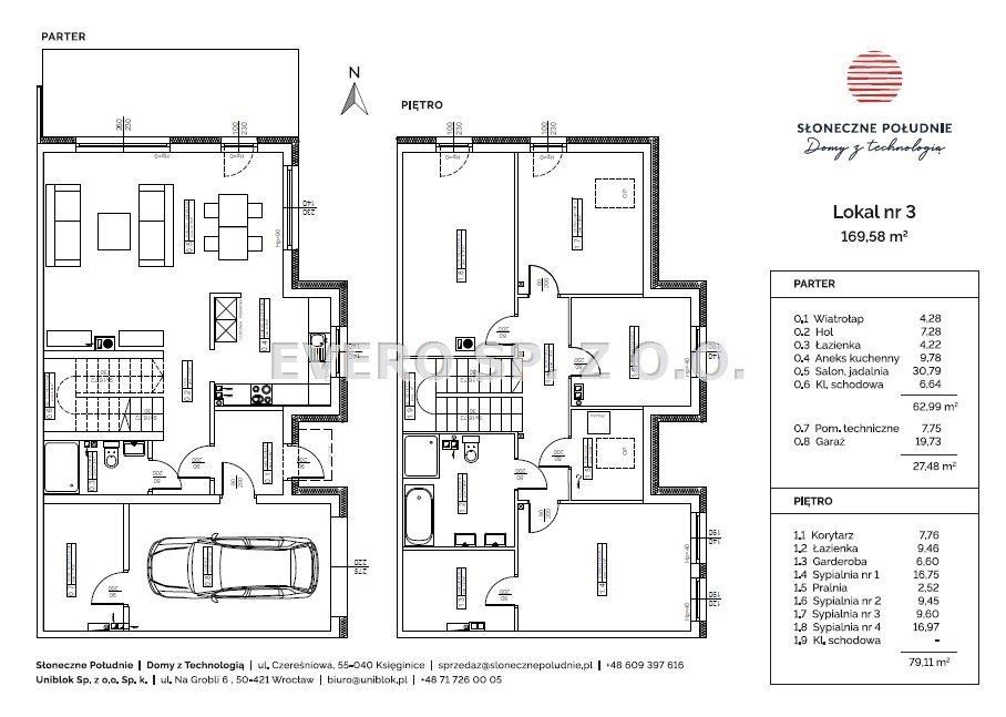 Dom na sprzedaż Wrocław, Inwestycja Słoneczne Południe - domy z pompą ciepła  170m2 Foto 9