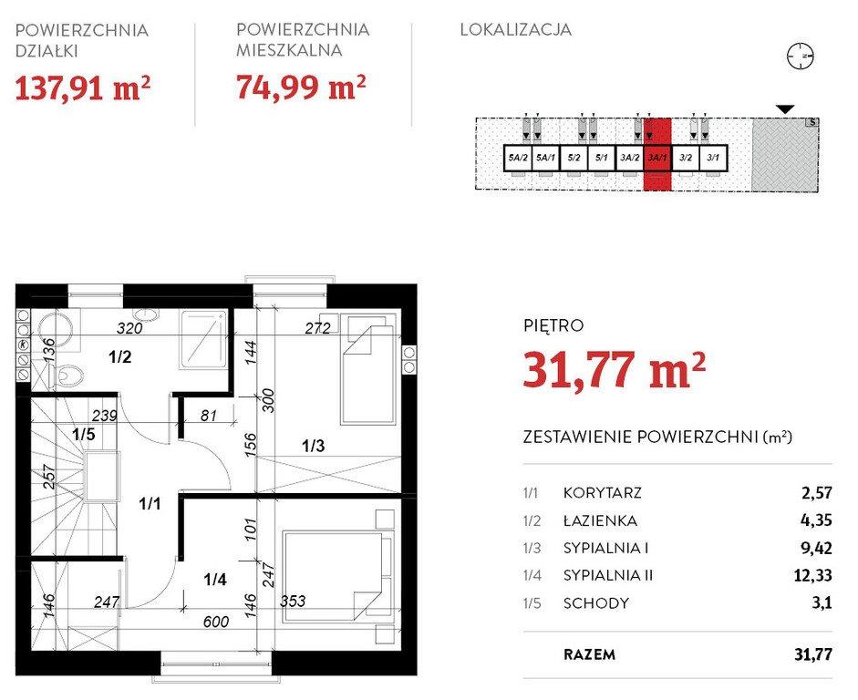 Dom na wynajem Poznań, Grunwald  75m2 Foto 10