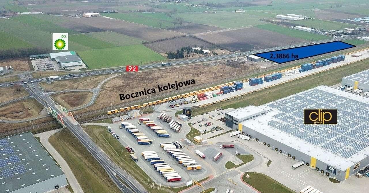 Działka inwestycyjna na sprzedaż Jasin, ul. poznańska 44  23866m2 Foto 2