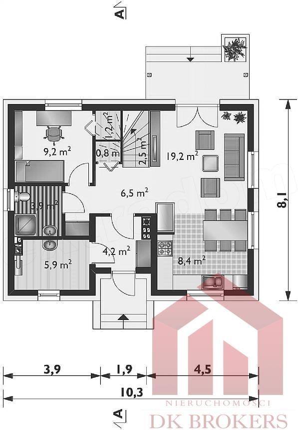 Dom na sprzedaż Boguchwała  124m2 Foto 3