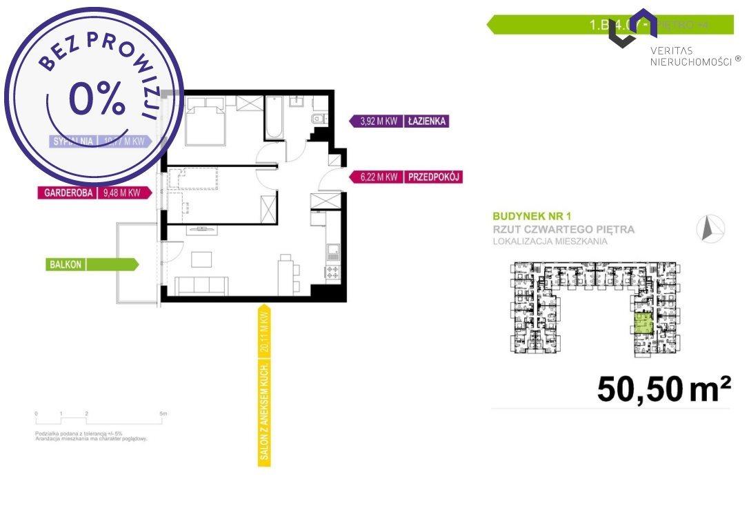 Mieszkanie dwupokojowe na sprzedaż Mikołów, Reta Śmiłowicka, Storczyków  50m2 Foto 2
