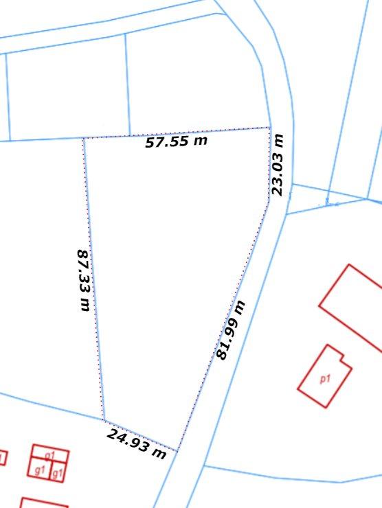 Działka budowlana na sprzedaż Grajów  1000m2 Foto 6