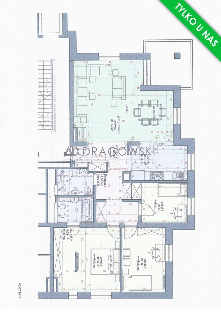 Mieszkanie czteropokojowe  na sprzedaż Warszawa, Włochy, Aleje Jerozolimskie  116m2 Foto 1