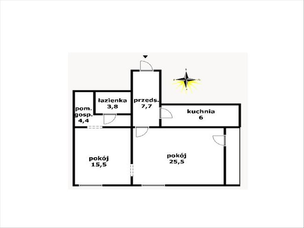 Mieszkanie dwupokojowe na sprzedaż Zakopane, Zakopane, Kasprowicza  60m2 Foto 11