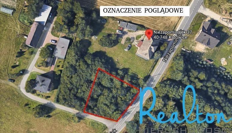Działka budowlana na sprzedaż Katowice, Podlesie, Niezapominajek  951m2 Foto 6