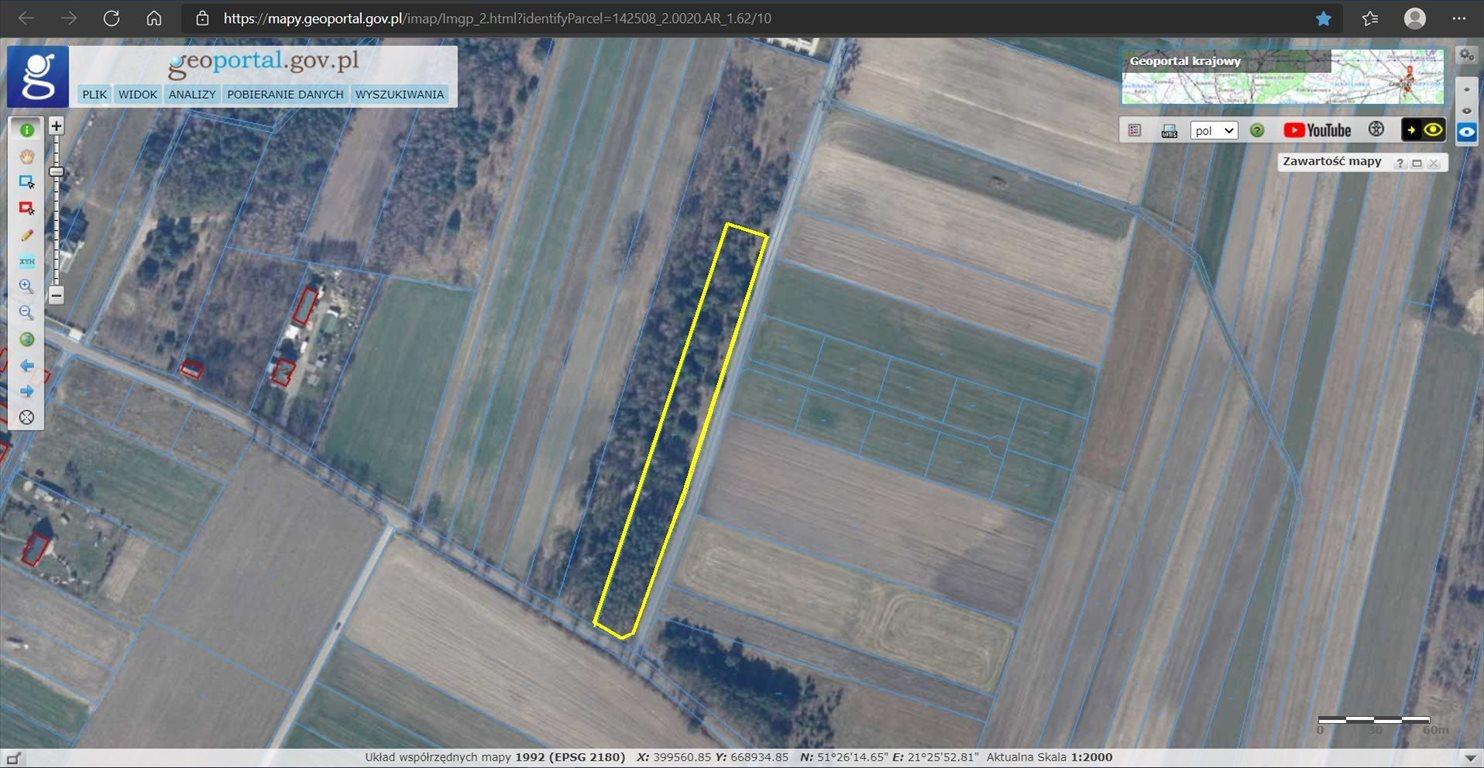 Działka rolna na sprzedaż Czarna Wieś  5402m2 Foto 1