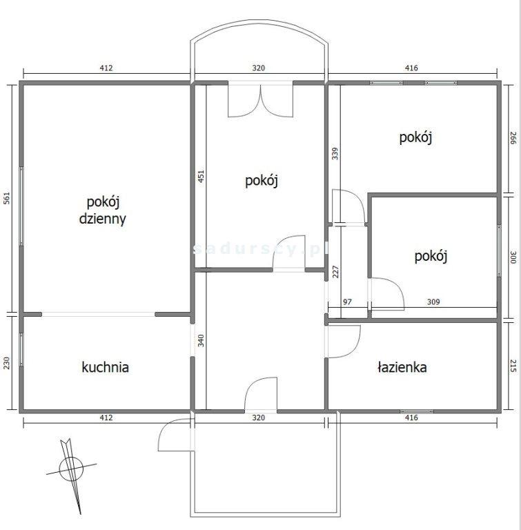 Mieszkanie czteropokojowe  na sprzedaż Wieliczka, Wieliczka, Gdowska  87m2 Foto 3