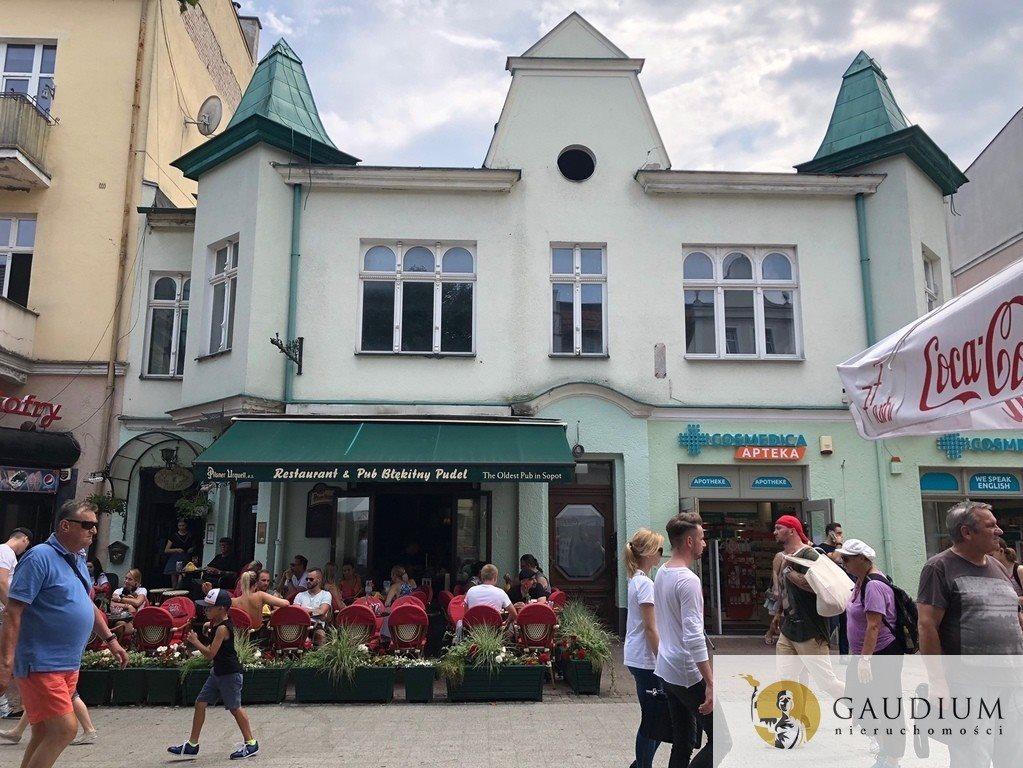 Lokal użytkowy na sprzedaż Sopot, Bohaterów Monte Cassino  485m2 Foto 2