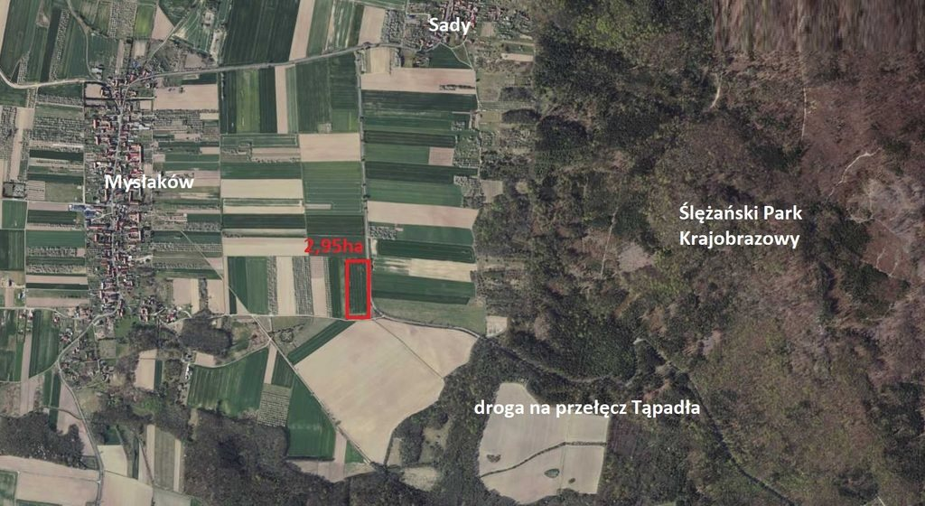 Działka rolna na sprzedaż Mysłaków  29500m2 Foto 3