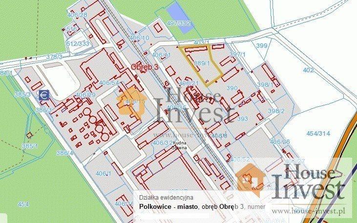 Działka komercyjna na sprzedaż Polkowice, Działkowa  8784m2 Foto 12
