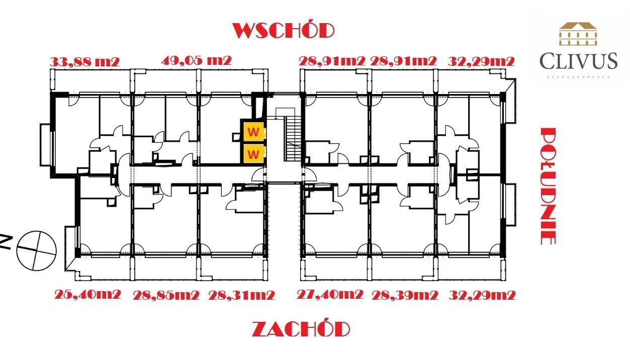 Mieszkanie trzypokojowe na sprzedaż Lublin, Wieniawa, Miasteczko Akademickie  49m2 Foto 9