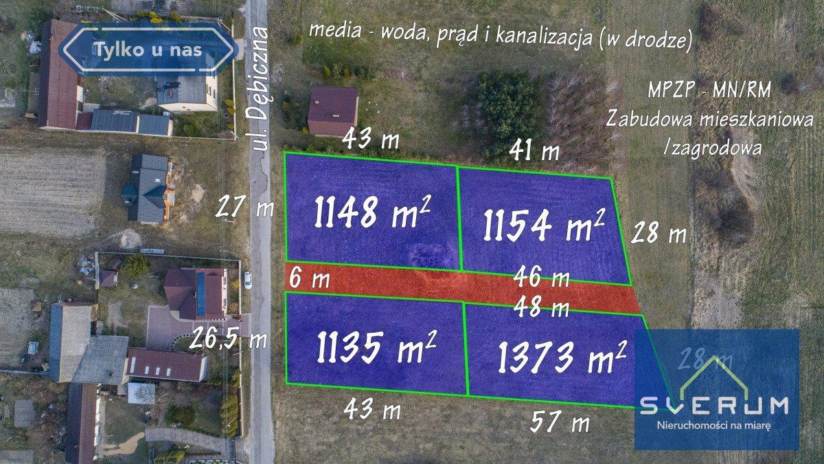 Działka budowlana na sprzedaż Truskolasy  1373m2 Foto 4