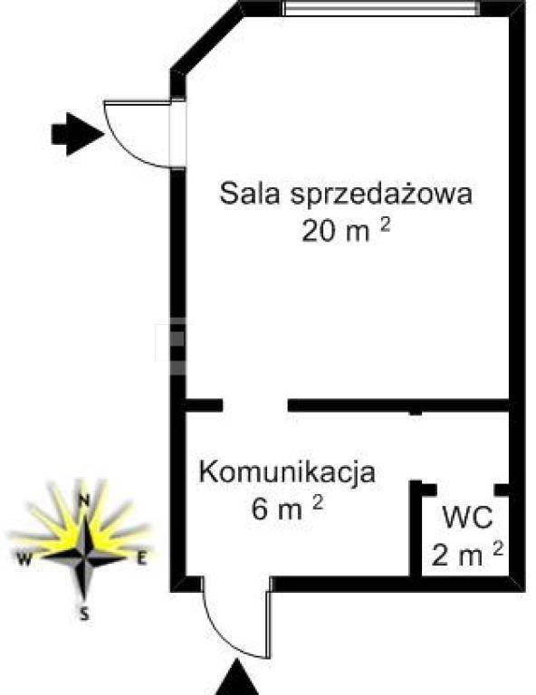Lokal użytkowy na sprzedaż Częstochowa, Raków, Al. Pokoju  28m2 Foto 8