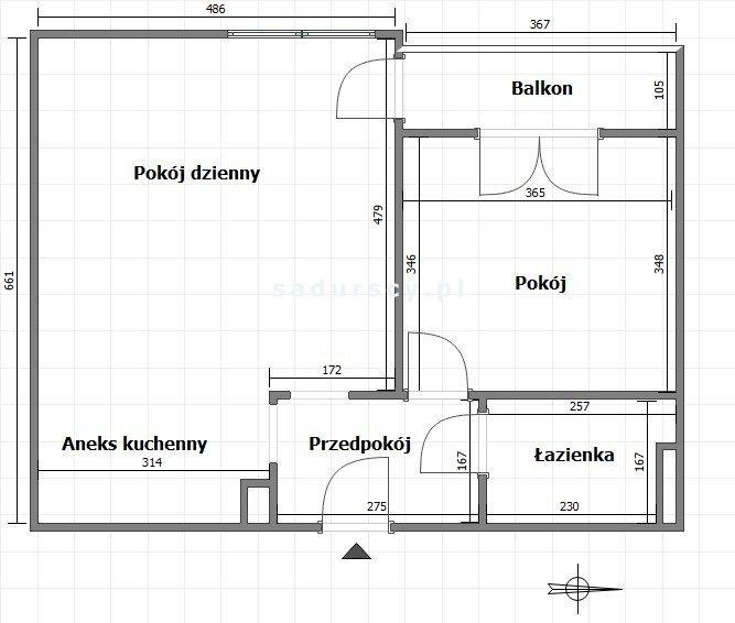 Mieszkanie dwupokojowe na sprzedaż Kraków, Podgórze Duchackie, Kurdwanów, Halszki  51m2 Foto 3