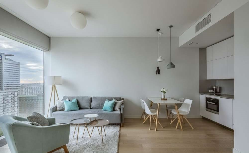 Mieszkanie dwupokojowe na wynajem Warszawa, Śródmieście, twarda 4  53m2 Foto 8