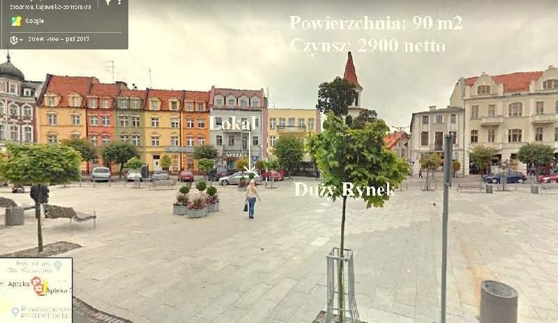 Lokal użytkowy na wynajem polska, Brodnica, Centrum  90m2 Foto 2