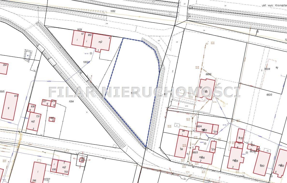 Działka budowlana na sprzedaż Chocianowiec  2600m2 Foto 6
