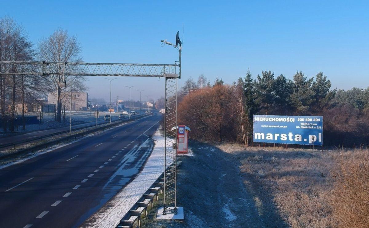 Działka przemysłowo-handlowa pod dzierżawę Reda, Pieleszewo, Wejherowska  2517m2 Foto 1