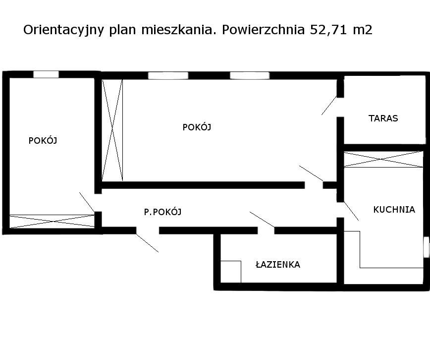 Mieszkanie dwupokojowe na sprzedaż Skoki, Mickiewicza  53m2 Foto 7