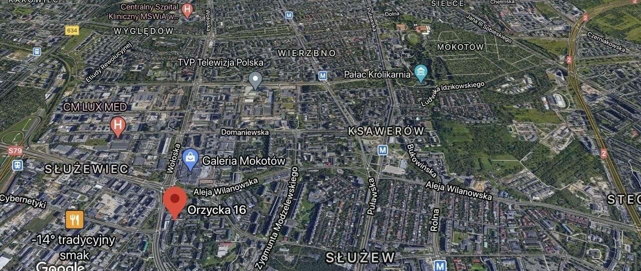Mieszkanie dwupokojowe na sprzedaż Warszawa, Mokotów, Orzycka 16  45m2 Foto 12
