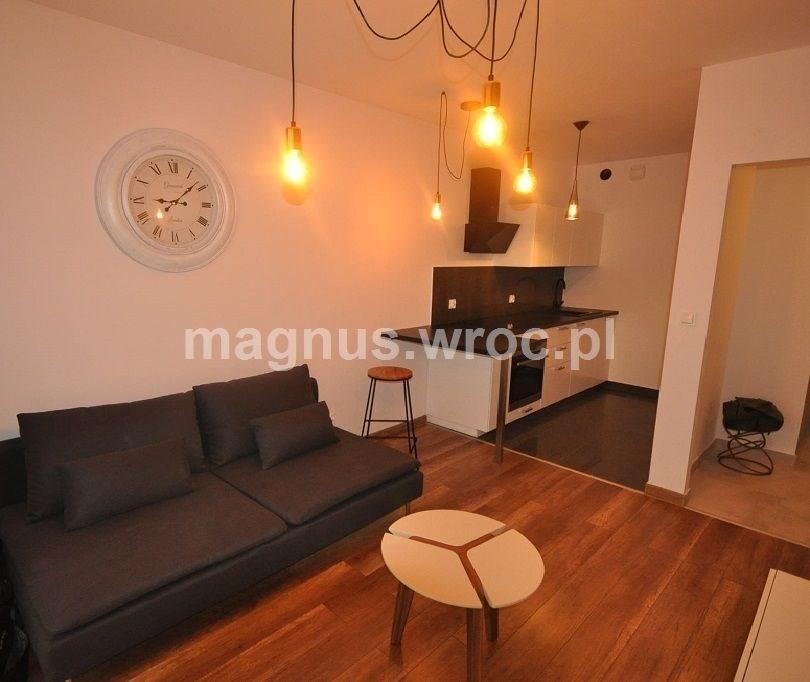 Mieszkanie dwupokojowe na wynajem Wrocław, Krzyki, Rakowiec  39m2 Foto 1