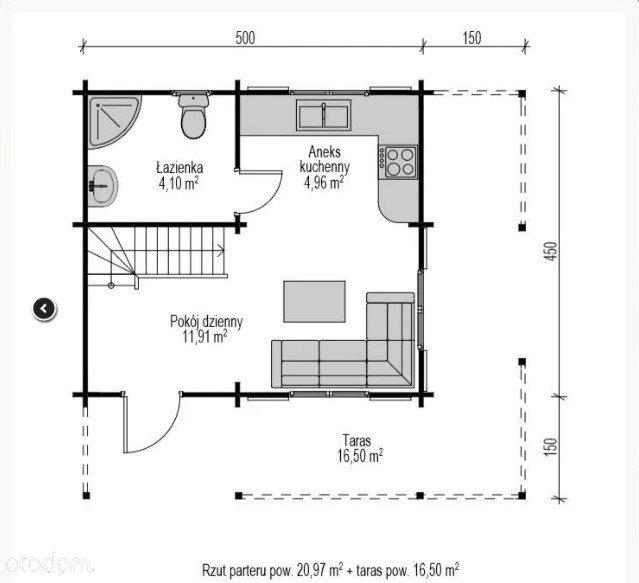 Dom na sprzedaż Łosie  40m2 Foto 7