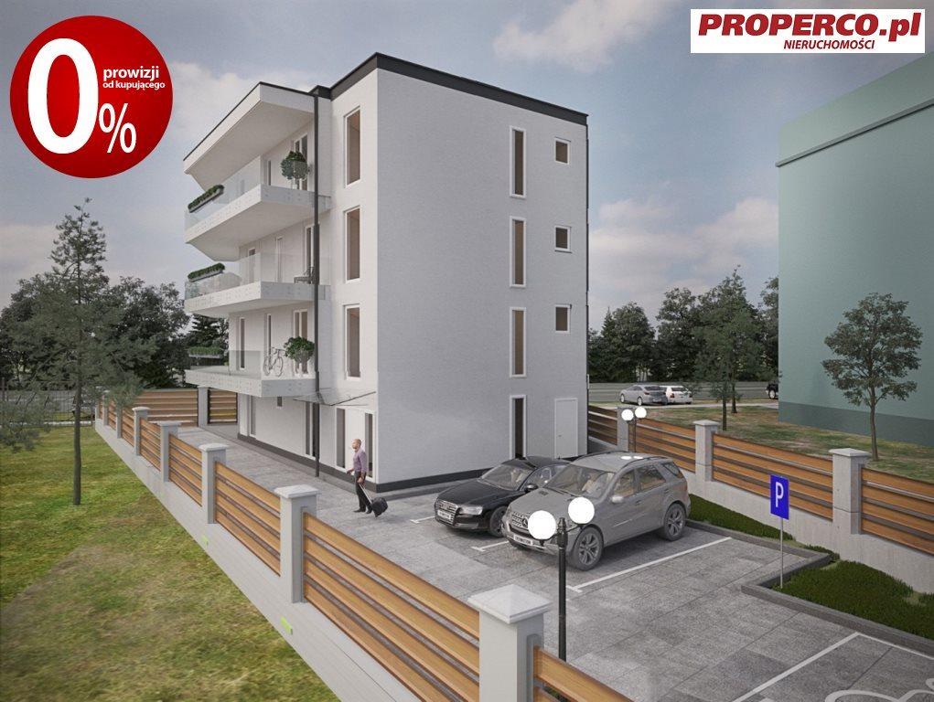 Mieszkanie trzypokojowe na sprzedaż Kielce, Baranówek  53m2 Foto 2