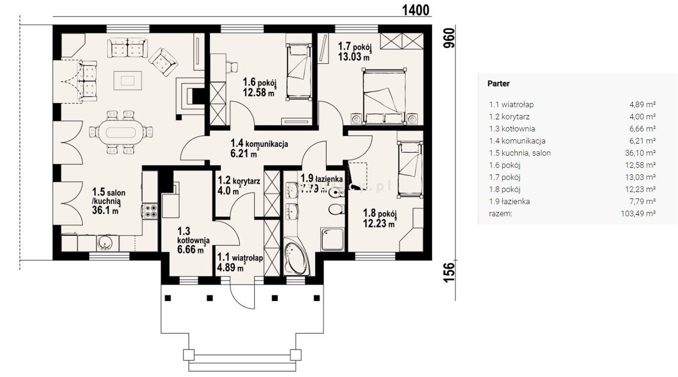 Dom na sprzedaż Sławkowice  103m2 Foto 12
