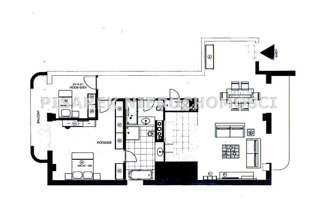 Mieszkanie trzypokojowe na sprzedaż Warszawa, Mokotów, Dolny Mokotów, Sułkowicka  128m2 Foto 8