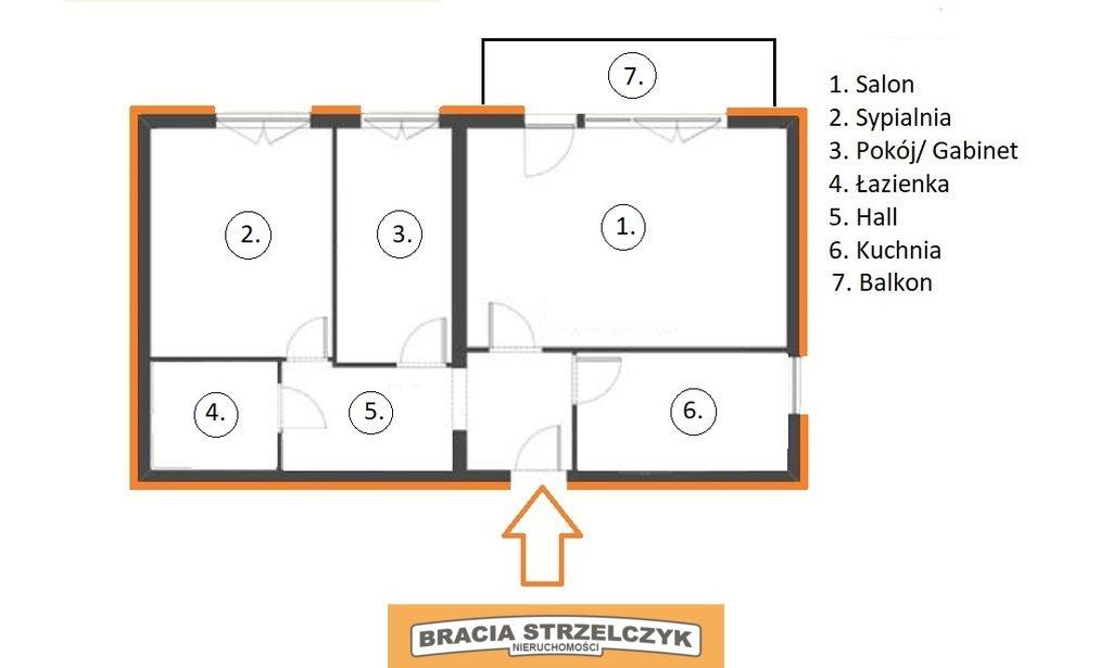 Mieszkanie trzypokojowe na sprzedaż Warszawa, Targówek, Bródno, Piotra Wysockiego  53m2 Foto 2