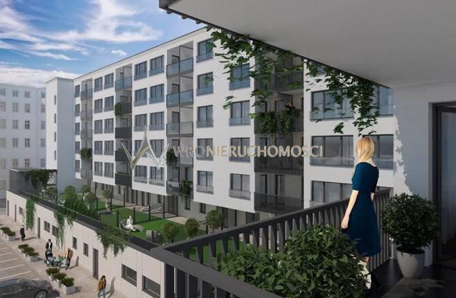 Mieszkanie trzypokojowe na sprzedaż Wrocław, Kręta  54m2 Foto 5