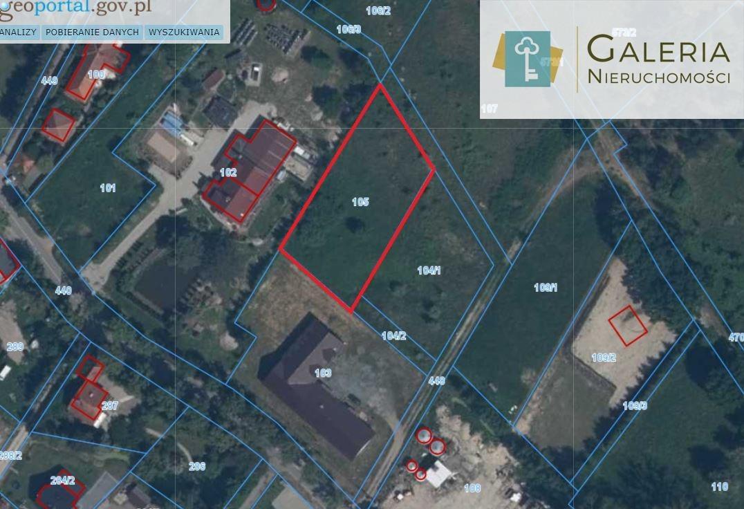 Działka rolna na sprzedaż Nowina  2076m2 Foto 5