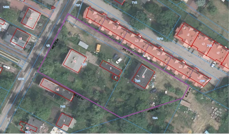 Działka budowlana na sprzedaż Marki, Ząbkowska  3014m2 Foto 1