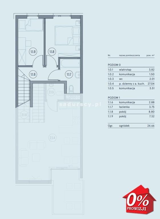 Mieszkanie trzypokojowe na sprzedaż Wieliczka, Wieliczka, Wieliczka, Kasztanowa okolice  61m2 Foto 4