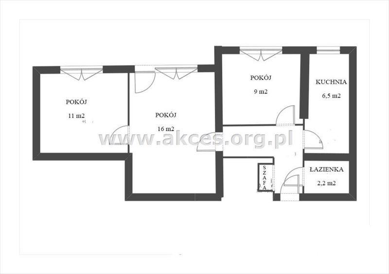 Mieszkanie trzypokojowe na sprzedaż Warszawa, Śródmieście, al. Jana Pawła II  51m2 Foto 1