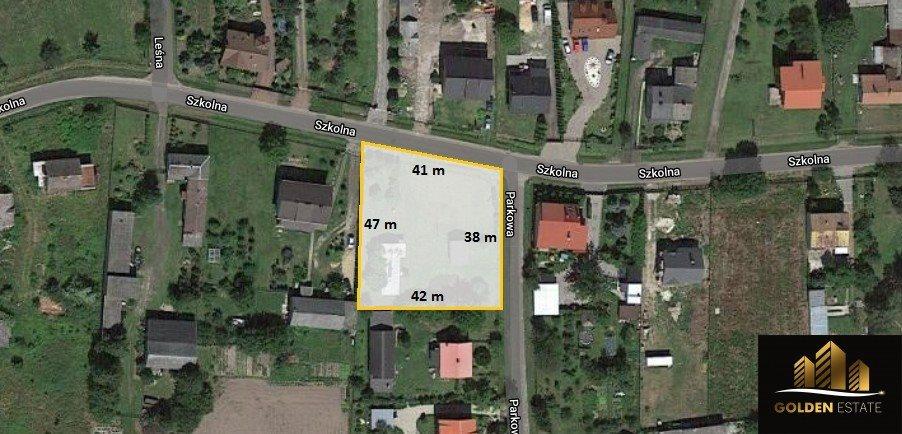 Działka budowlana na sprzedaż Konin, Parkowa  1752m2 Foto 1