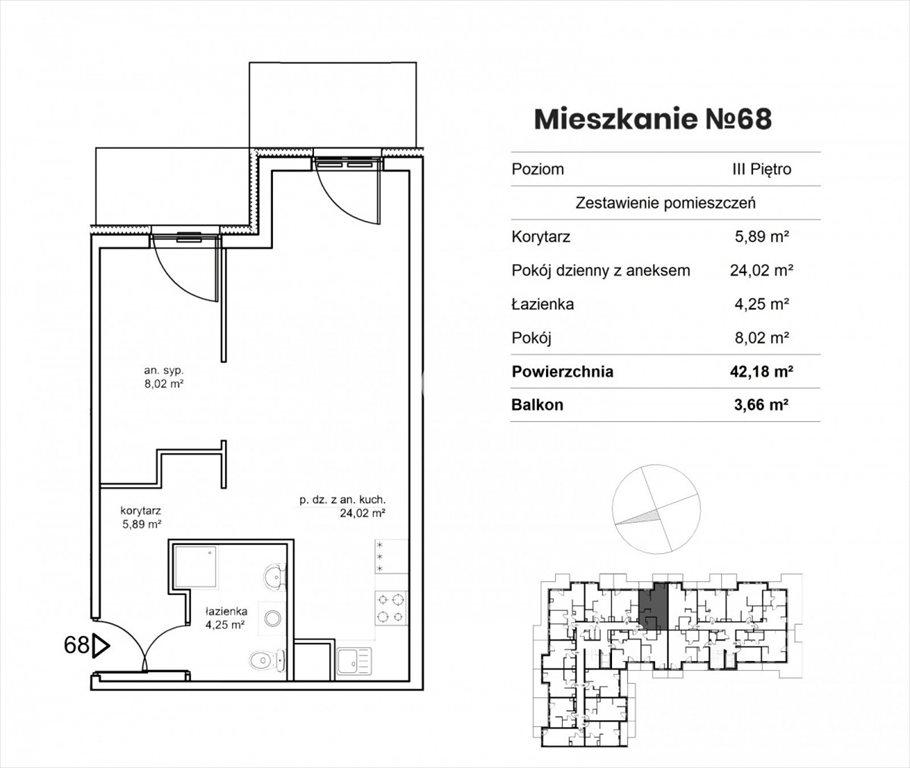 Mieszkanie dwupokojowe na sprzedaż Bydgoszcz, Okole, Garbary  42m2 Foto 8