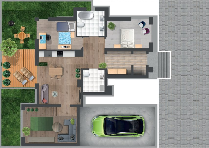 Mieszkanie czteropokojowe  na sprzedaż Krzeszowice, Majowa  125m2 Foto 6