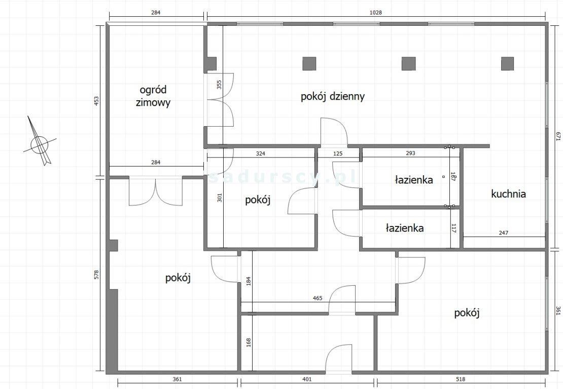 Mieszkanie czteropokojowe  na sprzedaż Kraków, Krowodrza, Łobzów, Mazowiecka  120m2 Foto 3