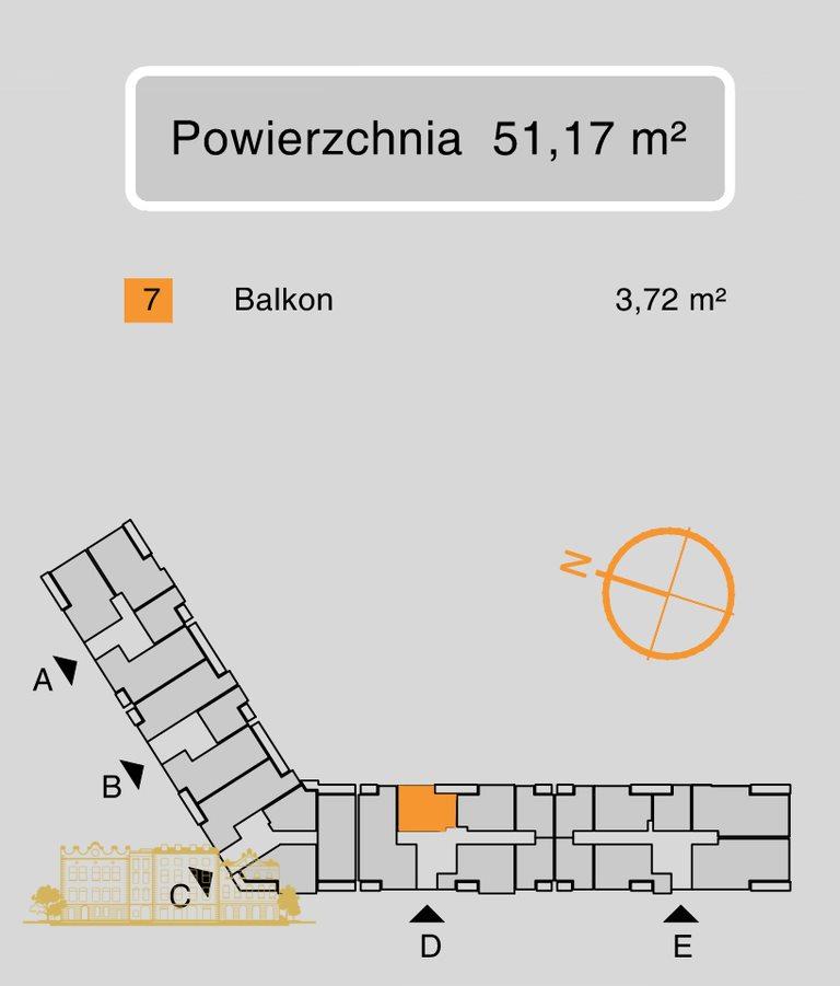 Mieszkanie trzypokojowe na sprzedaż Kraków, Grzegórzki, Grzegórzki, Fabryczna  51m2 Foto 4