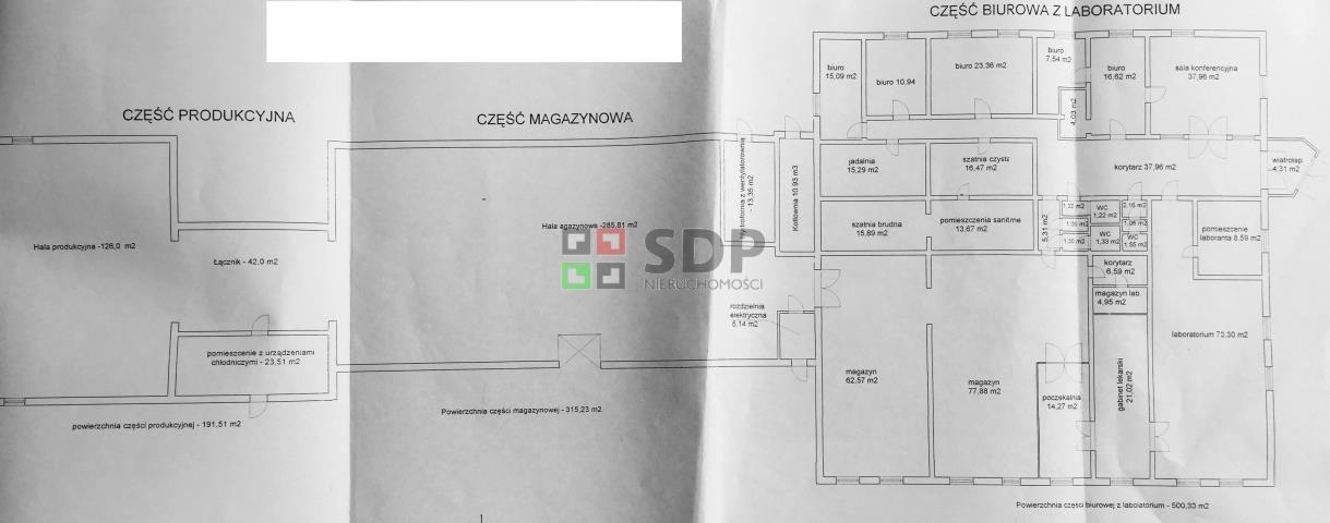 Lokal użytkowy na sprzedaż Witoszów Dolny  1000m2 Foto 6