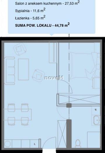 Mieszkanie dwupokojowe na sprzedaż Nowy Targ  56m2 Foto 2