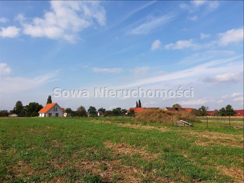 Działka budowlana na sprzedaż Świebodzice, Ciernie  950m2 Foto 1