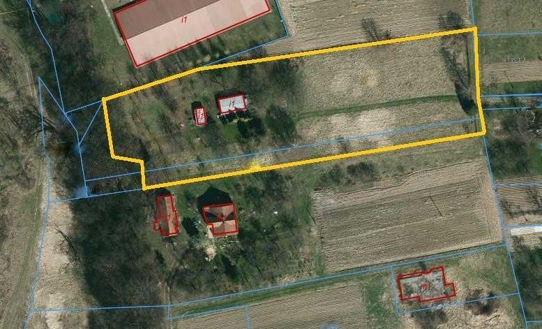 Działka budowlana na sprzedaż Jasło  5533m2 Foto 1
