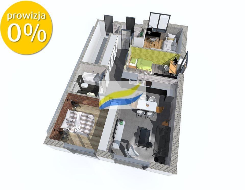 Mieszkanie trzypokojowe na sprzedaż Pyskowice, Adama Mickiewicza  73m2 Foto 6