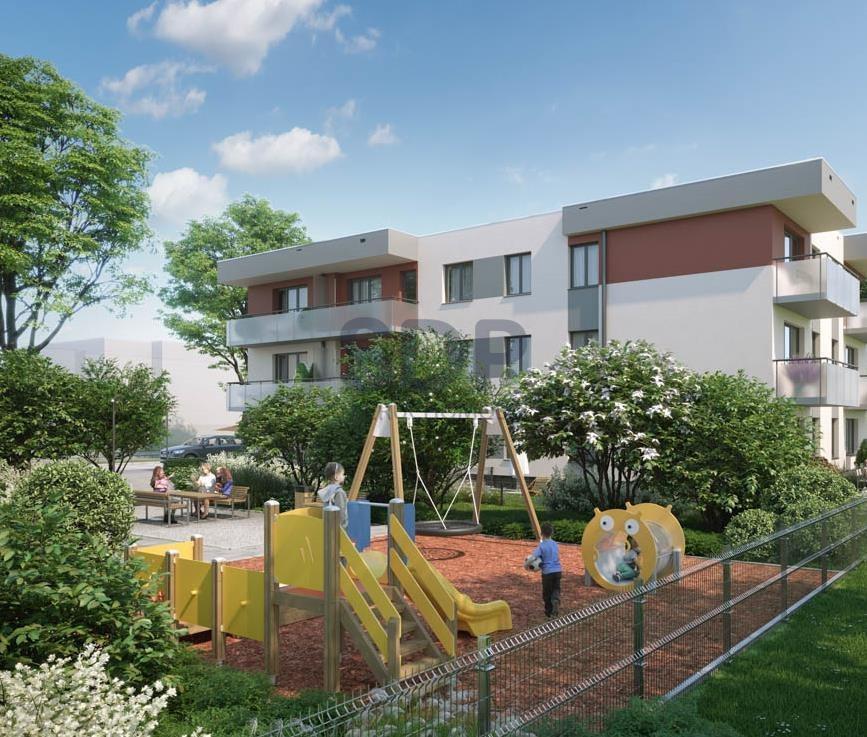 Mieszkanie dwupokojowe na sprzedaż Wrocław, Psie Pole, Wojnów, Perkusyjna  49m2 Foto 3