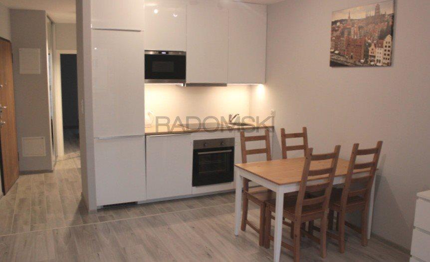 Mieszkanie dwupokojowe na wynajem Gdańsk, Śródmieście  41m2 Foto 1