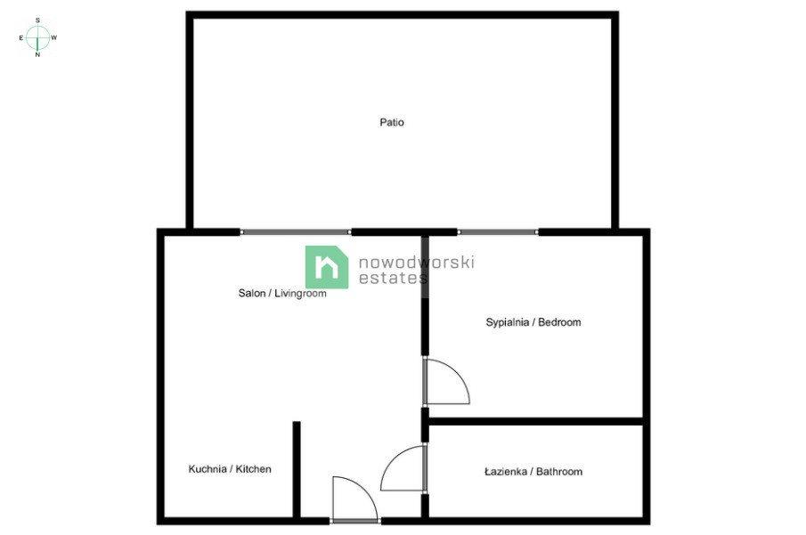 Mieszkanie dwupokojowe na wynajem Poznań, Dolna Wilda, Dolna Wilda, Droga Dębińska  42m2 Foto 13